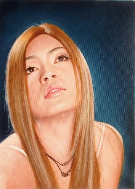 tranh chân dung sơn dầu