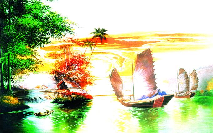 Tranh thuận buồm xuôi gió 20