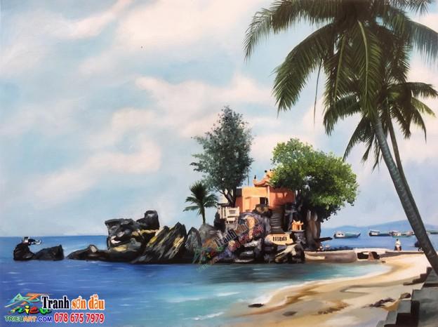 Vẽ tranh sơn dầu quận 7