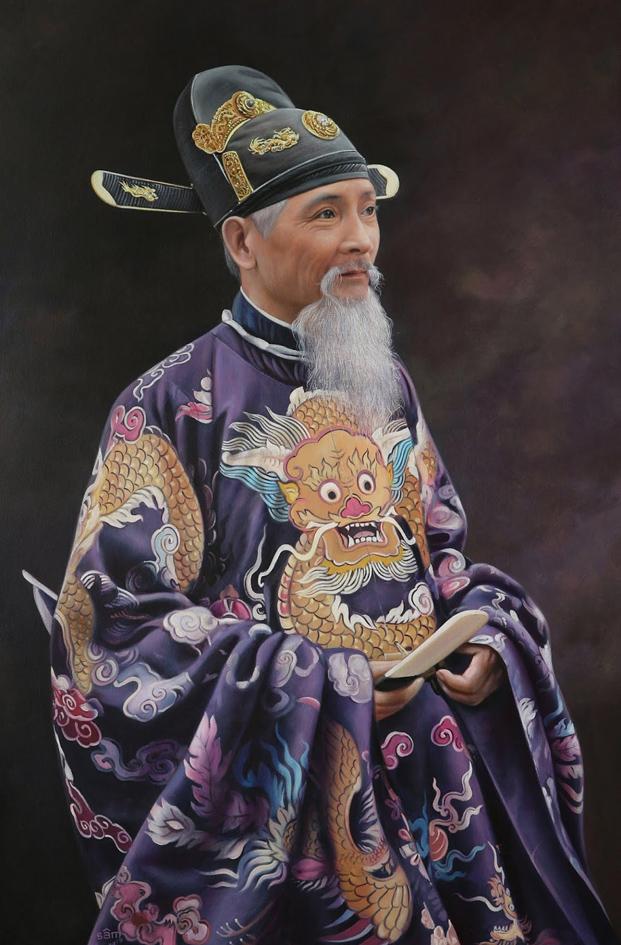 Tôn Thất Dân, tranh sơn dầu