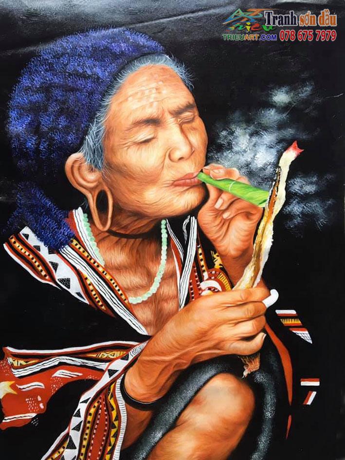 Tranh vẽ sắc màu văn hóa Dân Tộc